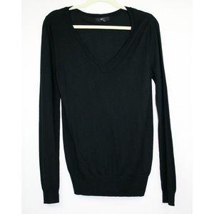 🆕️ Soft Lightweight Black V Neck Sweater